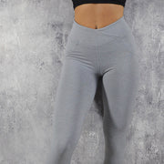 Women's Push Up Leggings High Waisted in Gray | Allure Apparel Co