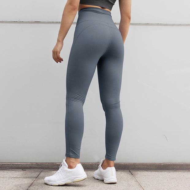 High Waisted Fitness Push Up Scrunch Workout Leggings Pants