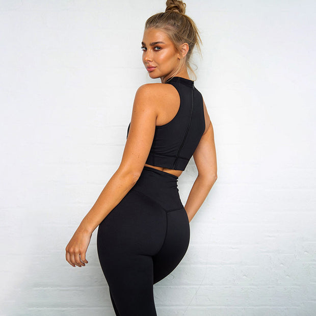 Women's Sportswear Set in Black | Allure Apparel Co