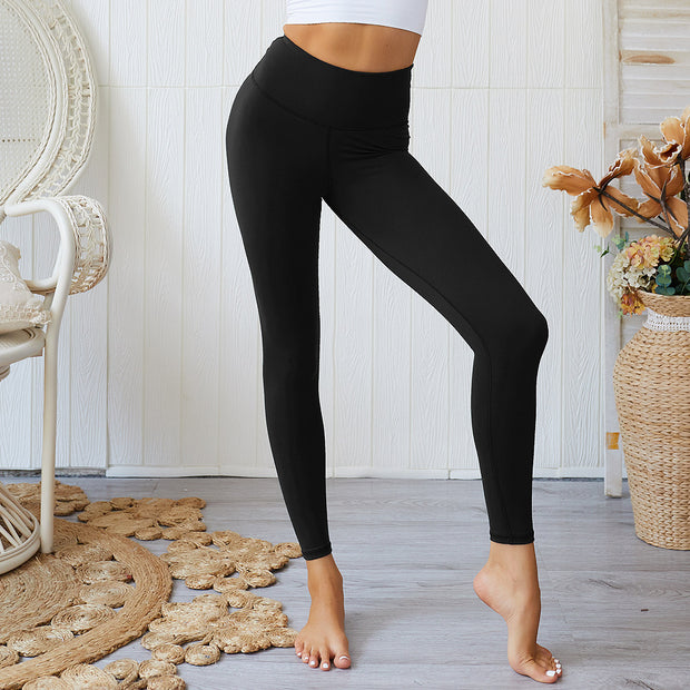 Subdued High Waisted Scrunch Leggings in Onyx Black | Allure Apparel Co