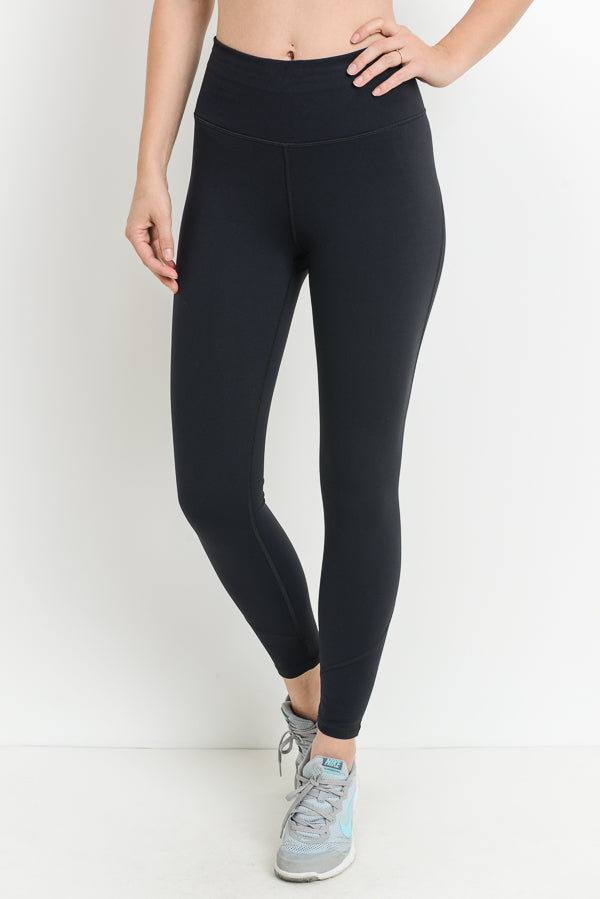 Premium Performance Highwaist Solid Leggings