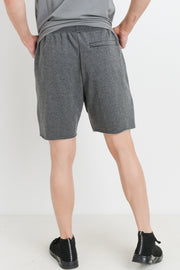 Drawstring Athletic Leisure Shorts in Grey | Allure Apparel Co