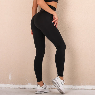 High Waisted Butter Divine Leggings in Black | Allure Apparel Co
