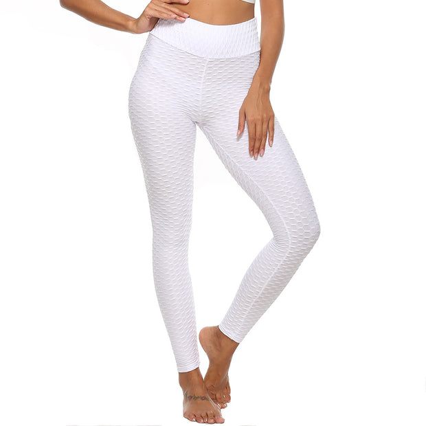 Push Up Workout Leggings in White | Allure Apparel Co
