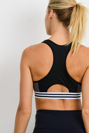 Seamless Hybrid Varsity Sports Bra | Allure Apparel Co