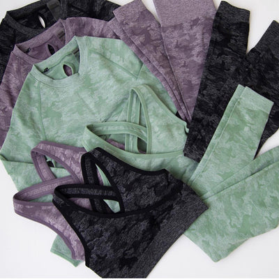 Camo Seamless Set | Allure Apparel Co