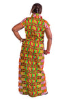 Kente katrina Maxi Dress