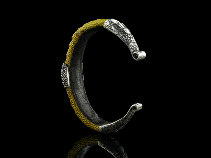 COMING SOON: Artemis Bracelet, Yellow with Labradorite