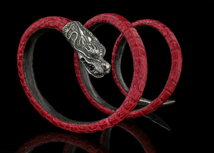 Fast and Furious Dragon, Red with Black Diamonds