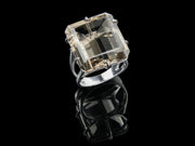 Large Smoky Quartz Statement Ring