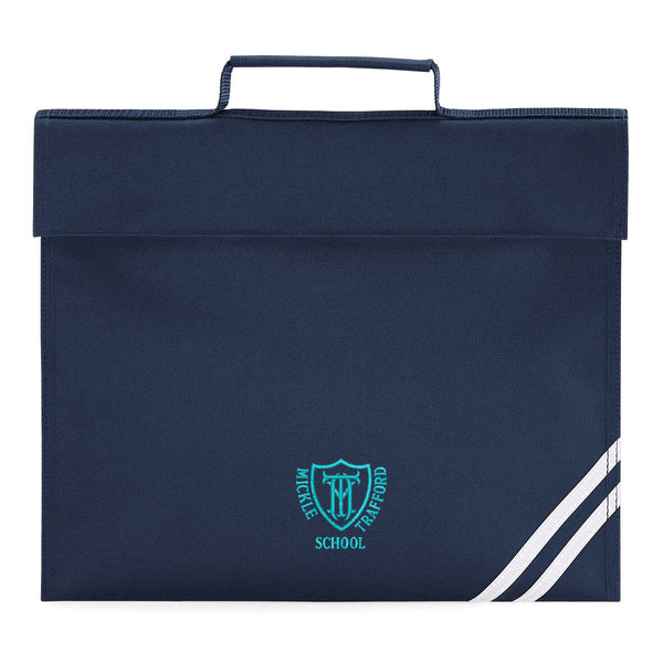 Embroidered Book Bag - Navy - Your School Uniform Shop