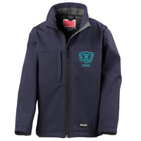 Embroidered Soft Shell Coat - Navy - Your School Uniform Shop
