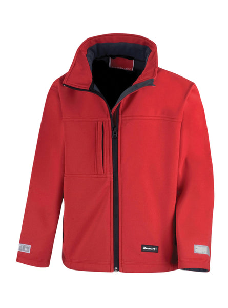 Junior Classic Softshell 3-layer Jacket - Your School Uniform Shop