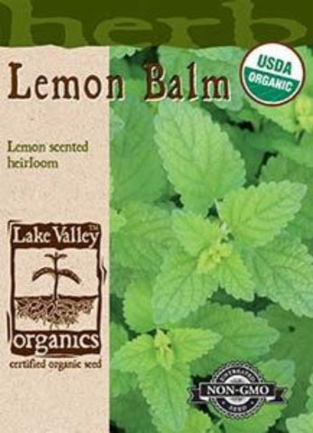 Organic Lemon Balm Heirloom