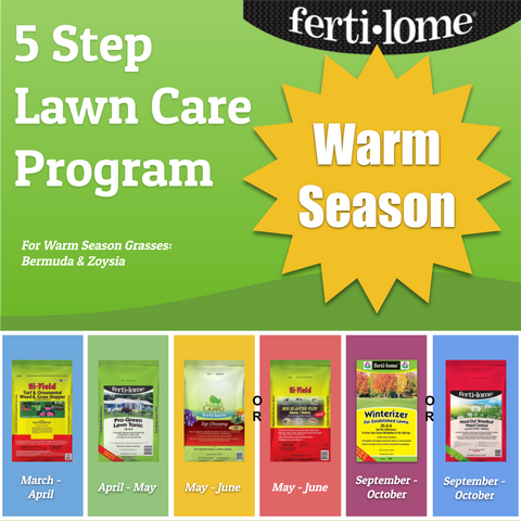 PBN Lawn Care Program - Warm Season Grasses