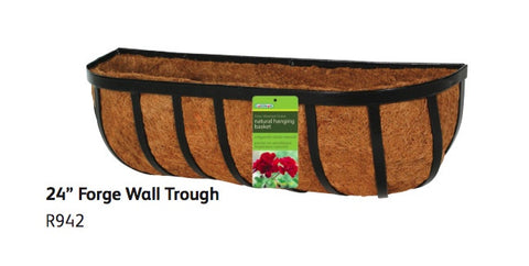 Gardman 24inch Forge Wall Trough Planter