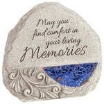 "Carson_ Memories"" Comfort and Light Memorial Stone"