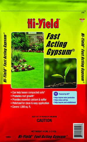 Hi-Yield® Fast-Acting Gypsum (4 lb.)