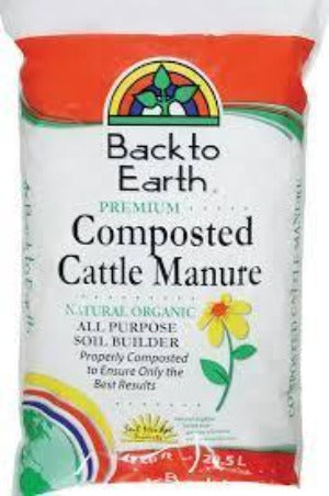 Back to Earth Cattle Manure