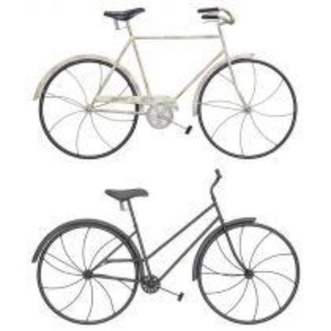 HH_Bicycle Classic Metal Wall Art 2 asst