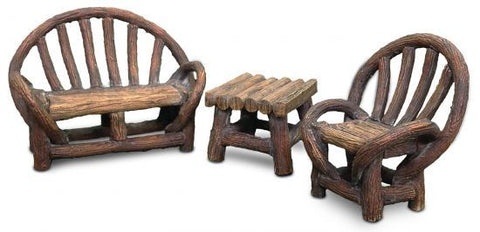 Woodland Knoll Appalachian Bench Set