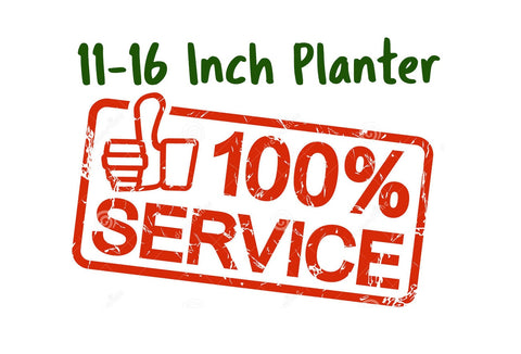 Services Potting 11-16 inch planter