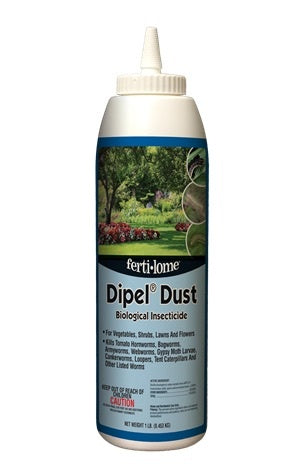 Fertilome Dipel® Dust Biological Insecticide (1 lb)
