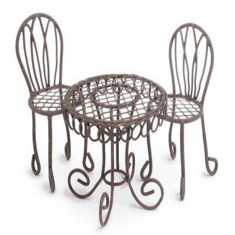 Woodland Knoll Bistro Table Set