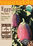 Organic Eggplant Black Beauty Heirloom