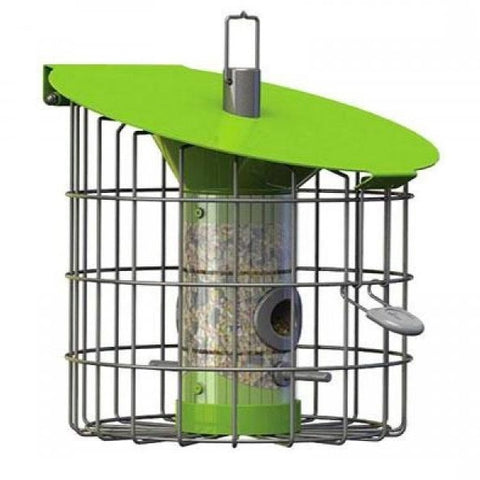 The Nuttery Roundhaus Squirrel Resistant Compact Seed Bird Feeder
