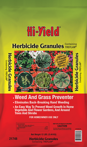 Hi-Yield® Herbicide Granules Weed and Grass Stopper (15 lbs)