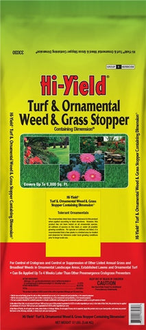 Hi-Yield Turf and Ornamental Weed and Grass Stopper (12 lbs)