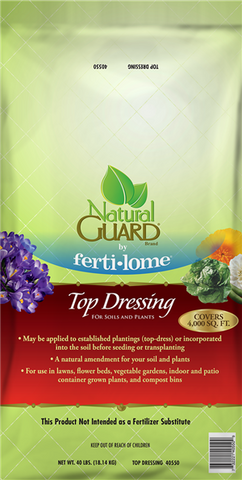NG Top Dressing For Soils & Plants (40 lbs.)