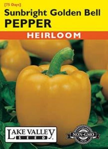 Pepper (Sweet) Sunbright Golden Bell