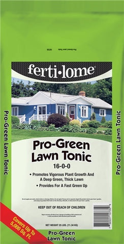 Fertilome Pro Green Lawn Tonic 16-0-0 (25 lbs)
