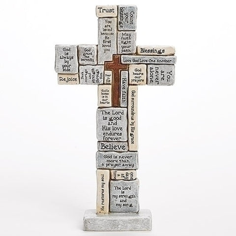 "Roman 12.5"" Crossword Table Cross"