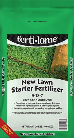 Fertilome 'New Lawn Starter' Fertilizer 9-13-7 (2/sizes)