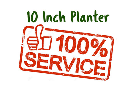 "Services Potting 10""or smaller planter"