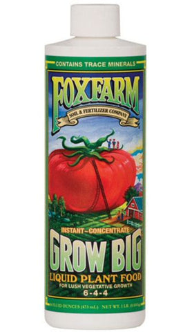 FoxFarm 'Grow Big' Liquid Concentrate (6-4-4)