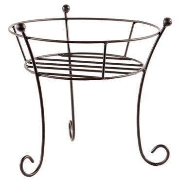 AGW Filigree Plant Stand Black