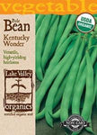Organic Bean (Pole) Kentucky Wonder Heirloom