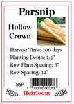 PBN Parsnip Hollow Crown - TBSP