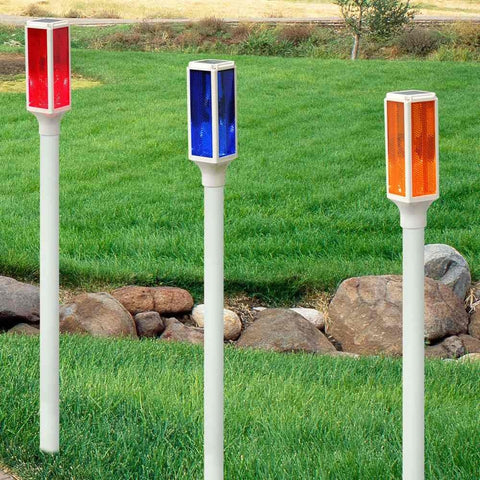 Alpine Solar Powered Driveway Marker Stake Lights