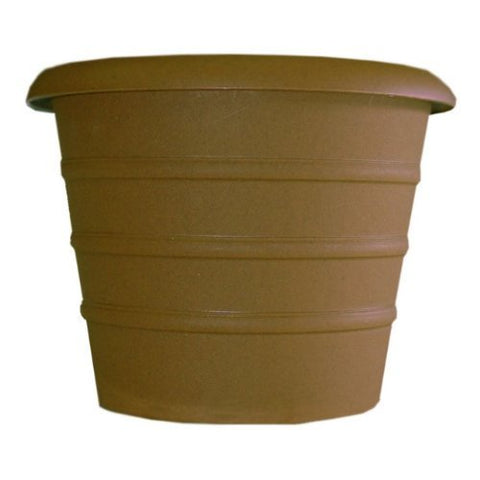 HC_ 16 inch Marina Planter Chocolate