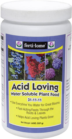 Fertilome Acid Loving Water Soluble Plant Food 31-11-11 (8 oz)