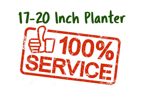 Services Potting 17-20 inch planter