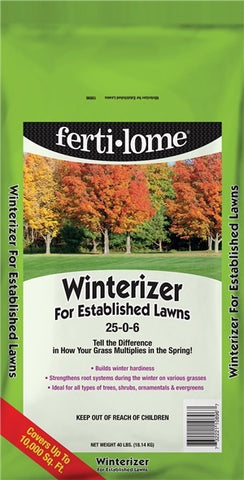 Fertilome Winterizer For Established Lawns 25-0-6 (40 lbs)