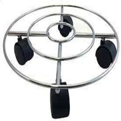 Wagner Round Chrome Wire Caddy