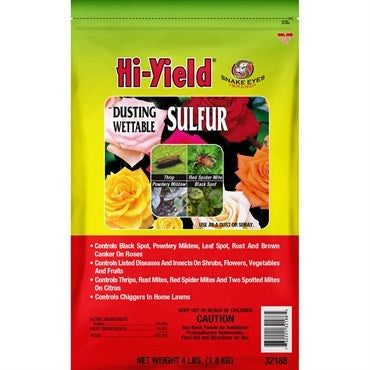 Hi-Yield® Dusting Wettable Sulfur (4 lbs)