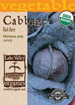 Organic Cabbage Red Acre Heirloom